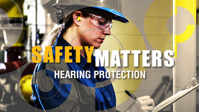 Safety Matters: Hearing Protection