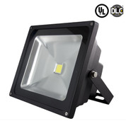50W LED Flood Light. 3700-4200 Lumens -  277V. 4 Units Per Carton