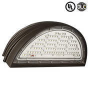 70W LED Semi Circular Off Wallpack. 5300 Lumens - 277V. 1 Unit Per Carton. First View