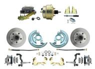 1964-1972 GM A- Body (Chevelle, GTO, Le Mans) Standard disc brake kit w/ no upgrades.