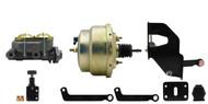 "MP-203  1962-1972 MOPAR A, B, E Body 8"" Dual Zinc Booster Conversion Kit w/ Adjustable Proportioning Valve"