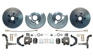 "DBK6272-BB - 1962-1972 Mopar B-Body & E-Body Stock Height 12"" Rotor Disc Brake Conversion Kit"