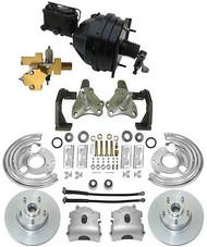1966-70 Mopar B Body Power Disc Brake Kit w/ OE Bendix Style Power Booster Kit