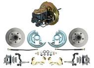 "1967-1969 Camaro 2"" Drop Disc Brake Conversion Kit & Factory OE Style Booster"