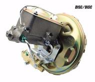 1970-81 F-Body Power Brake Booster, Master Cylinder Valve & Proportioning Valve Kit for Disc Disc
