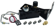 Universal Black Adjustable Proportioning Valve / Dist. Block Kit, 9/16 & 1/2""