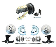 "1963-1966 GMC CHEVY Truck Disc Brake Kit 6-LUG Stock Height 2WD 9"" Booster"