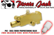 PV2 -  GM # 25509419 Replacement Disc Drum Combination Valve, Cars, Trucks, SUV's