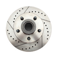 GM Cross Drilled & Slotted Rotors