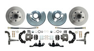 DBK6272A-40 - 1962-1972 Mopar A Body Small Bolt Pattern Standard Disc Brake Conversion Kit