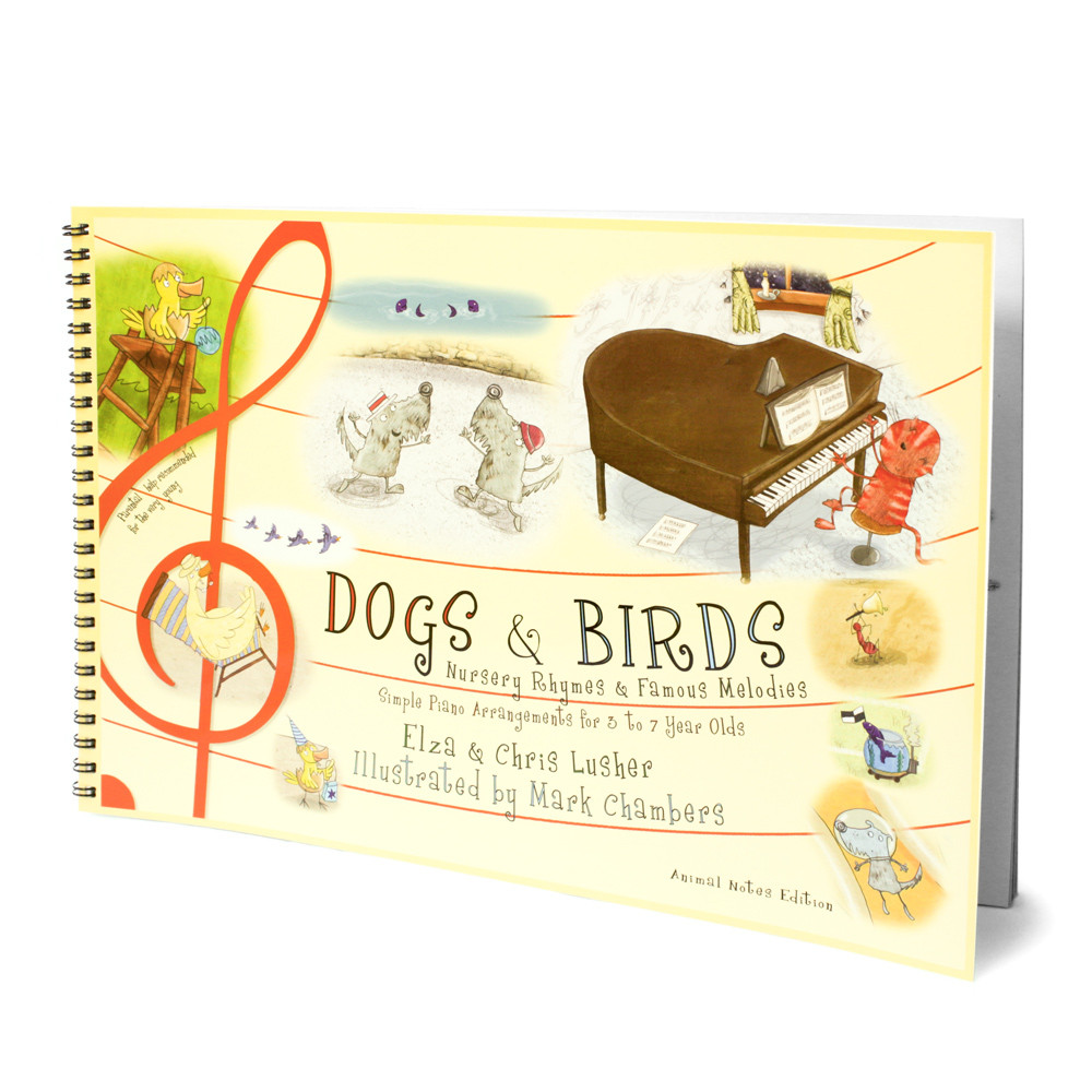 Nursery rhymefamous melodies animal notes edition dogs and birds nursery rhymefamous melodies animal note edition db 009 an biocorpaavc Gallery