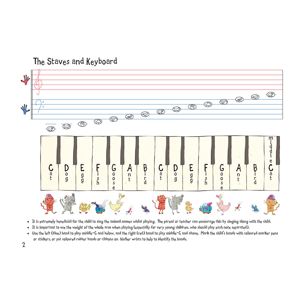 Nursery rhymefamous melodies animal notes edition dogs and birds nursery rhymefamous melodies animal note edition page 2 biocorpaavc Gallery