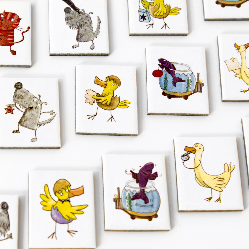 Small Animal Tiles (DB-013) 2