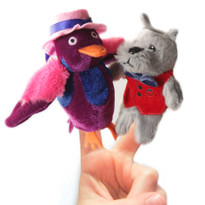 Dorian and Miss Bell Finger Puppets