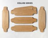 Five Bombora Drop Deck shaped maple veneer 8-layer sets