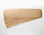 "Slightly smaller! 11 x 41 x 1/16"" Maple skateboard veneer.   Order as many 8-layer sets as you want, no minimum!"