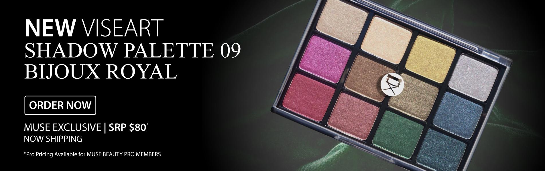 Viseart Bijoux Royal Shadow Palette
