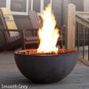 Kingsman Fire bowl Smooth Gray Finish