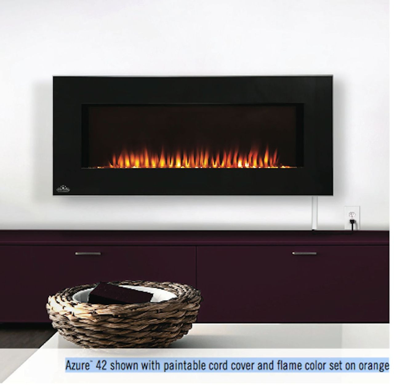 Electric Fireplace Napoleon Part - 40: NAPOLEON 42H ELECTRIC FIREPLACE
