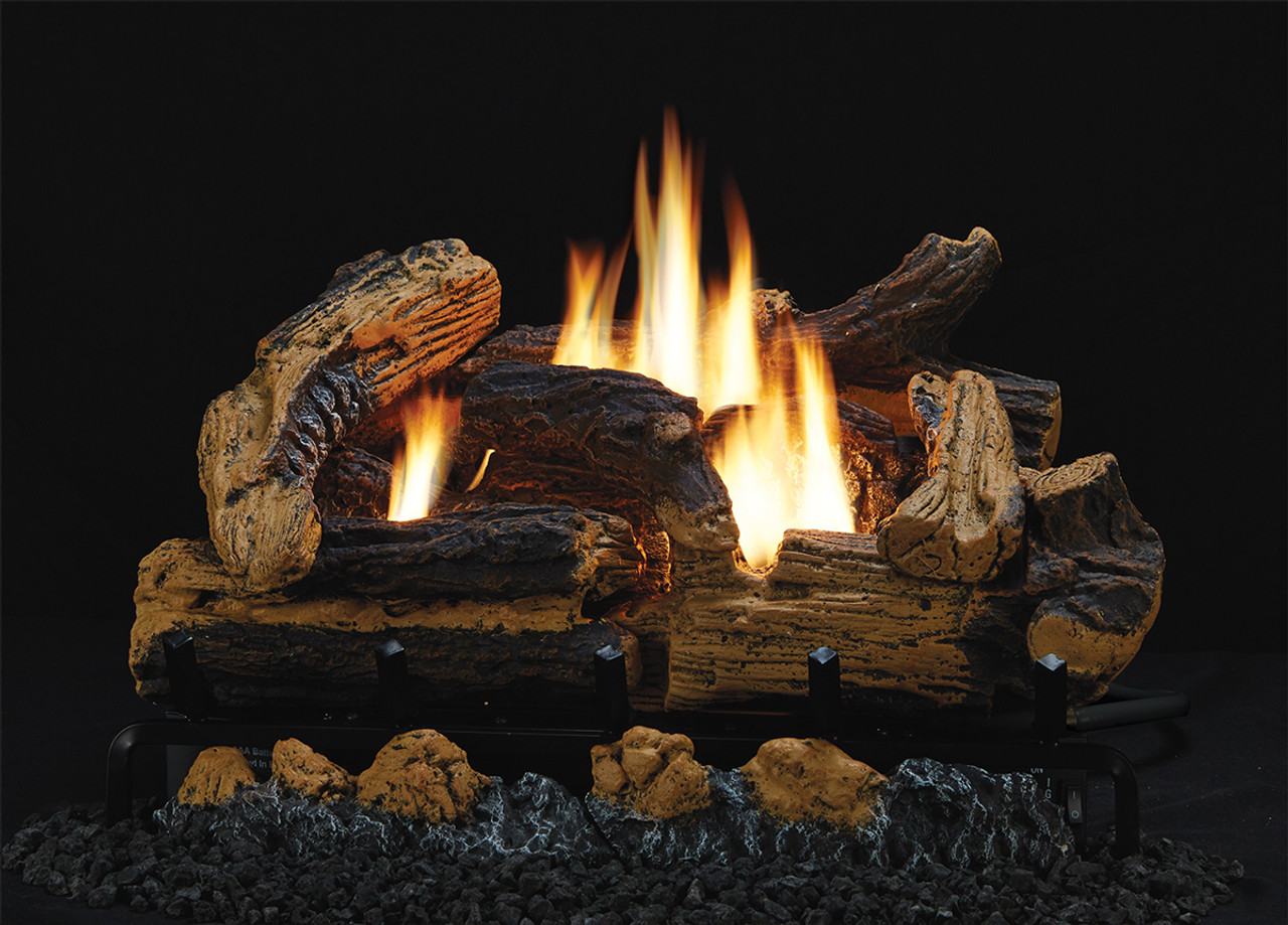 Kennesaw Refractory Gas Logs Amp Hearthrite Burner Combos