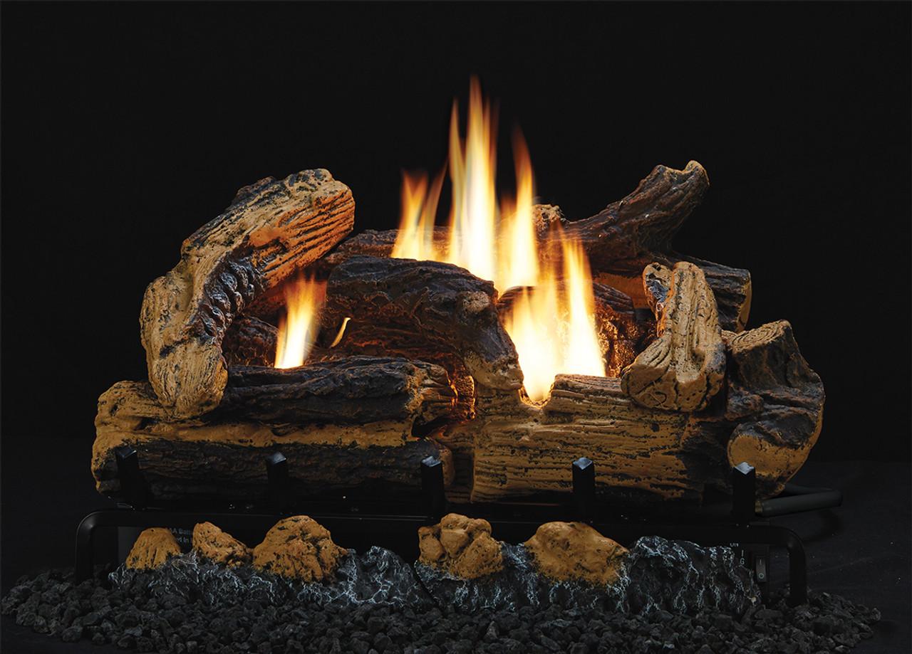 majestic mojo gas logs vent free