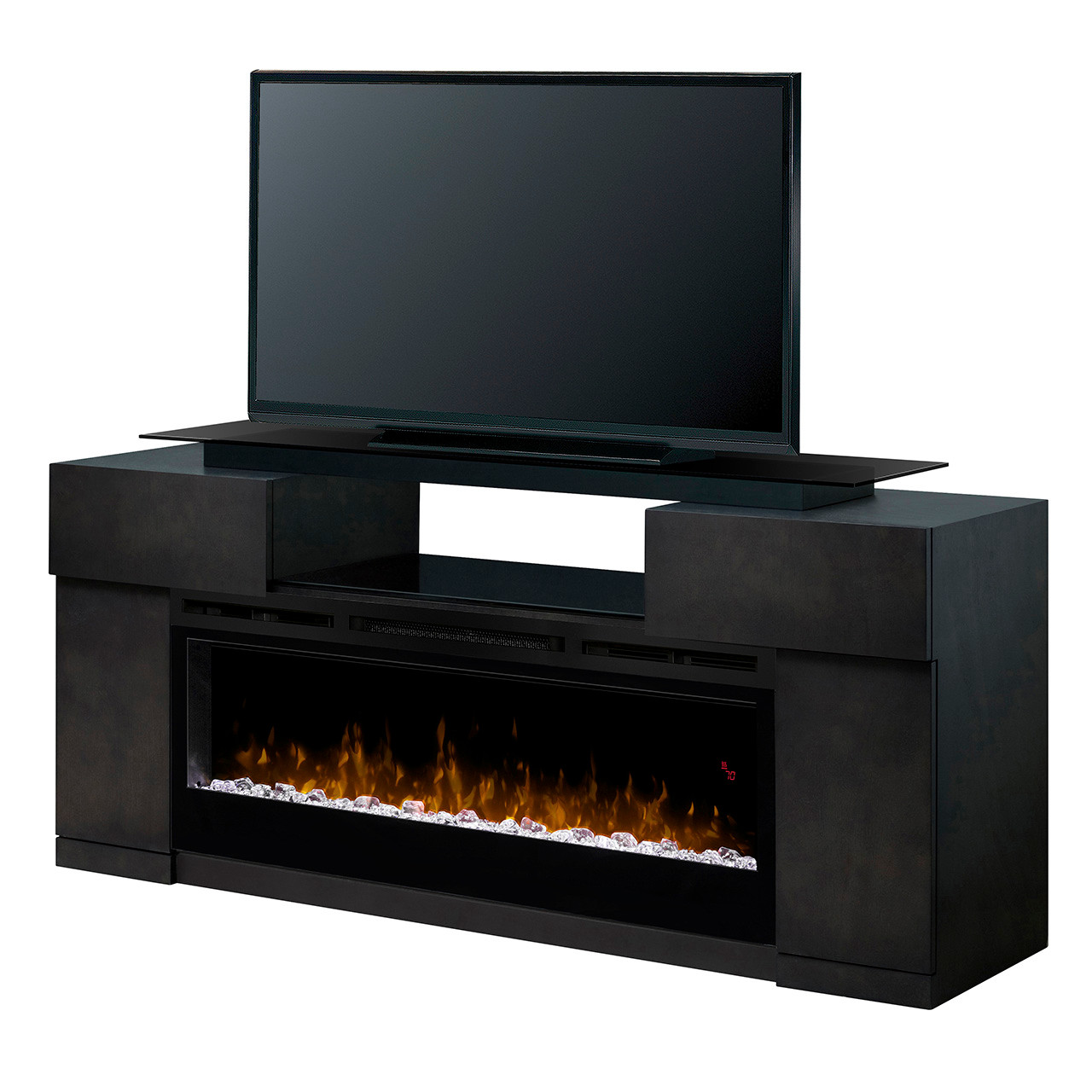 Dimplex Concorde Electric Fireplace W/ Media Console