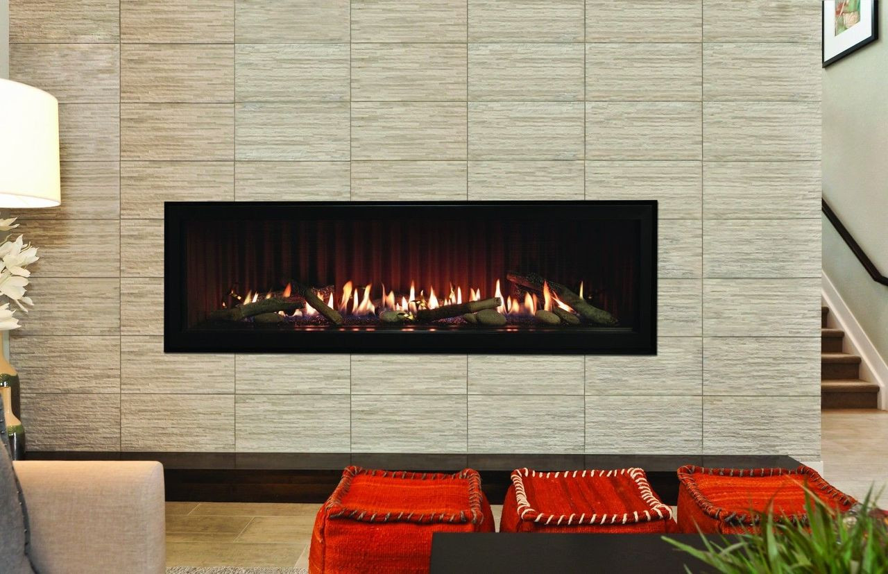 Boulevard Linear 48 Quot Contemporary Direct Vent Gas Fireplace