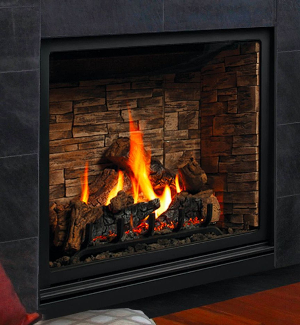 kingsman zrb46 linear gas fireplace