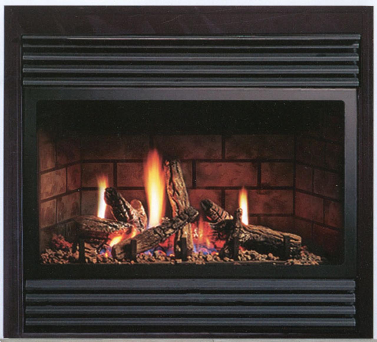 Kingsman Zdv3318 Zero Clearance Direct Vent Gas Fireplace Heater Fireplacesrus