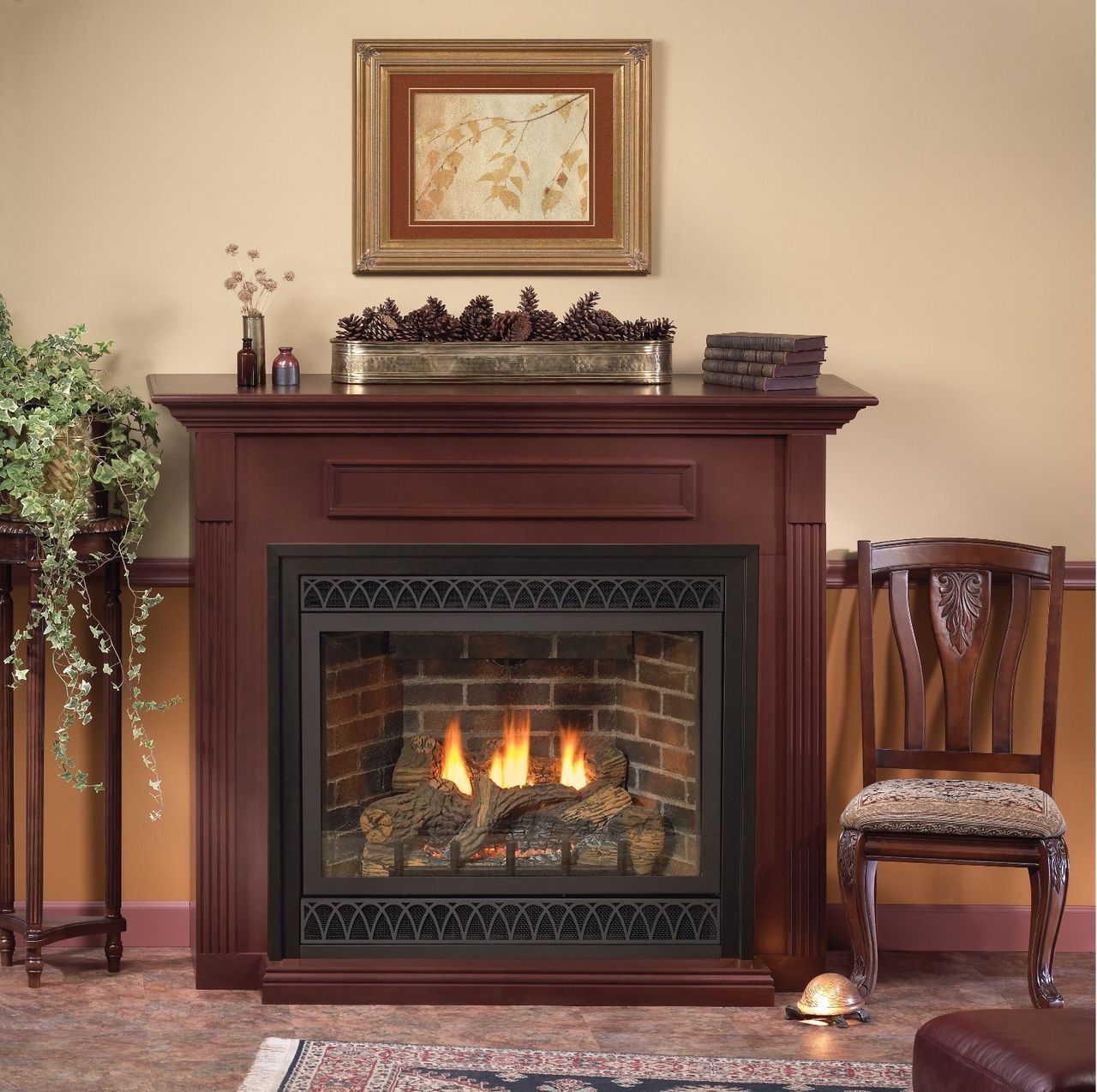 american hearth madison cf premium 42 traditional gas fireplace
