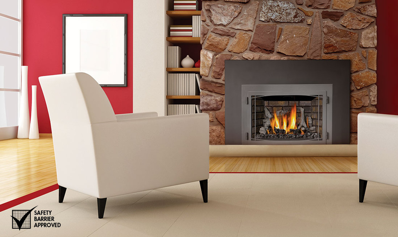 Infrared Fireplace Insert Part - 25: Napoleon Infrared X3 Gas Fireplace Insert - XIR3