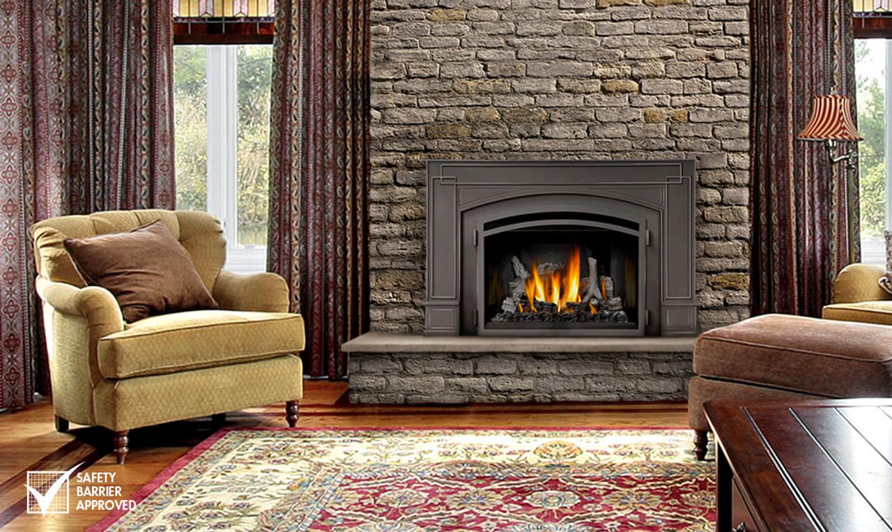 Fireplace Design infrared fireplace heater : NAPOLEON INFRARED3 GAS FIREPLACE INSERT IR3