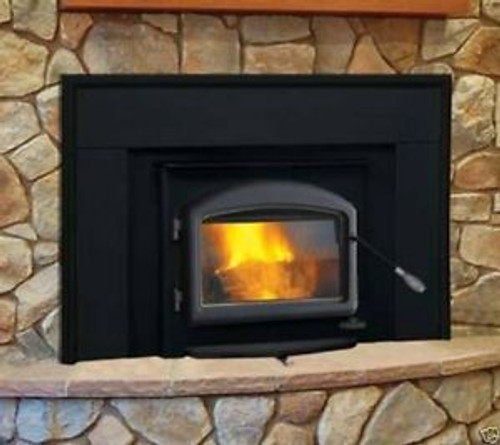 napoleon fireplace insert with black door u0026 surround this is exactly what you get plus - Napoleon Fireplaces