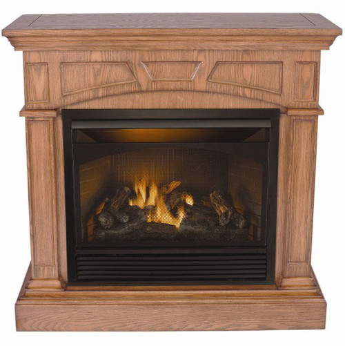 American Hearth Lincoln vent free gas fireplace