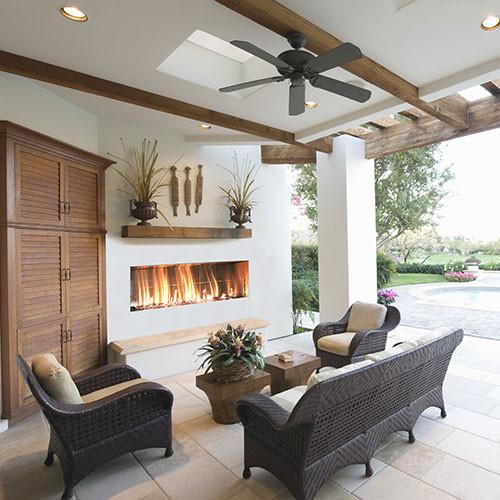 Firegear Kalea Bay - Outdoor Linear Fireplaces Single Sided Or See ...
