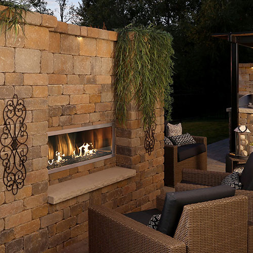 Firegear Kalea Bay - Outdoor Linear Fireplaces Single ...