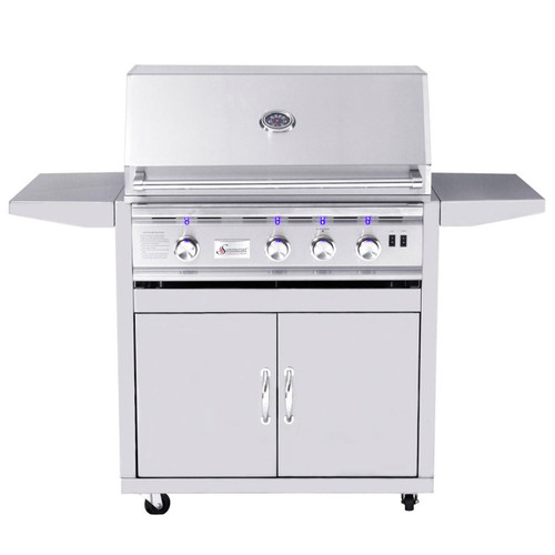 "Summerset 32"" Sizzler Pro Series Grill On Cart"