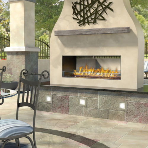 NAPOLEON GSS48 AND GSS48ST OUTDOOR LINEAR GAS FIREPLACES SINGLE ...