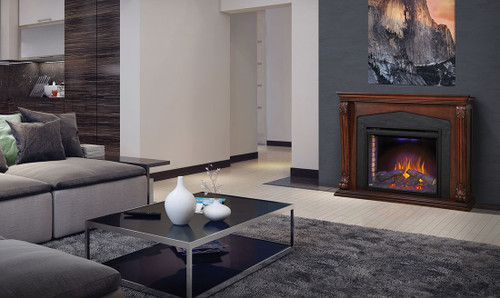 Napoleon Taylor Electric Fireplace With Mantel Package