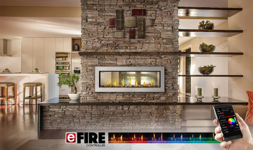 Napoleo 42 Inch Ascent Series Gas Fireplace