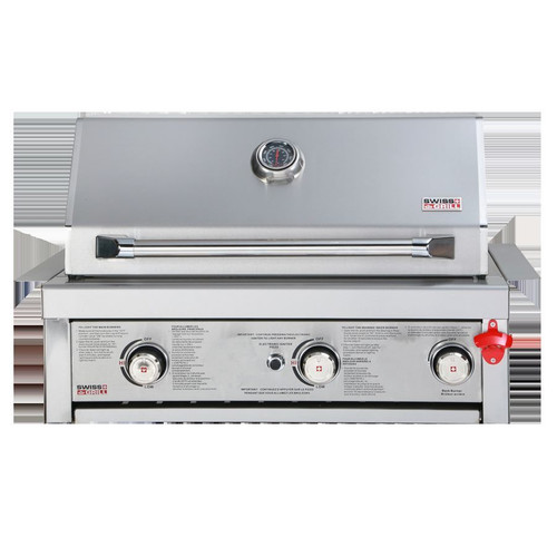 Swiss Grill BI-320 Stainless Steel Built In Grill Head
