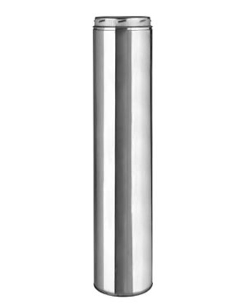 "Metalbestos Platinum Series Ultra- Temp 8""x48"" Stainless Steel Chimney Pipe"