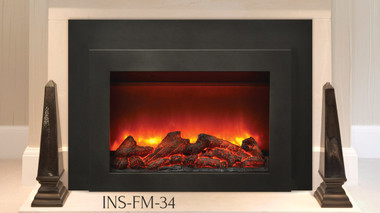 Sierra Flame Ins Fm 34 Electric Fireplace Insert Large And