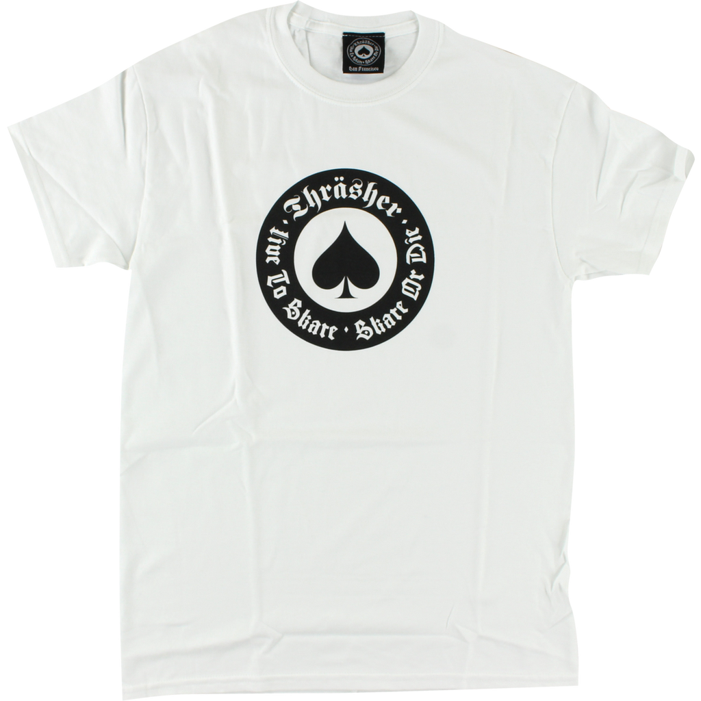 Thrasher Skate Mag Oath T-Shirt (Available in 2 Colors)