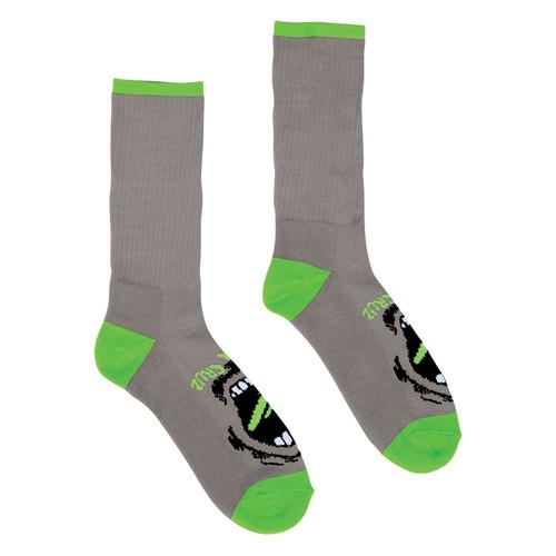 Santa Cruz Screaming Hand Socks Grey (2 pair pack)