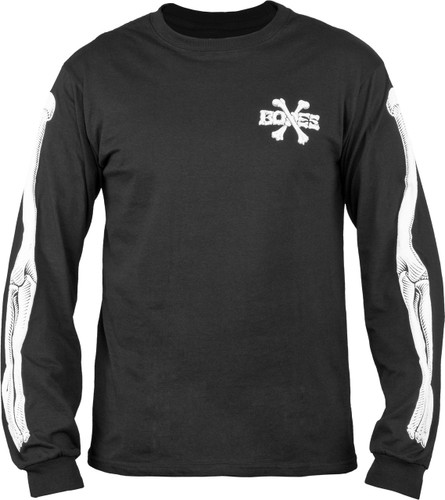 Bones Cross Bones Longsleeve Shirt (Black)