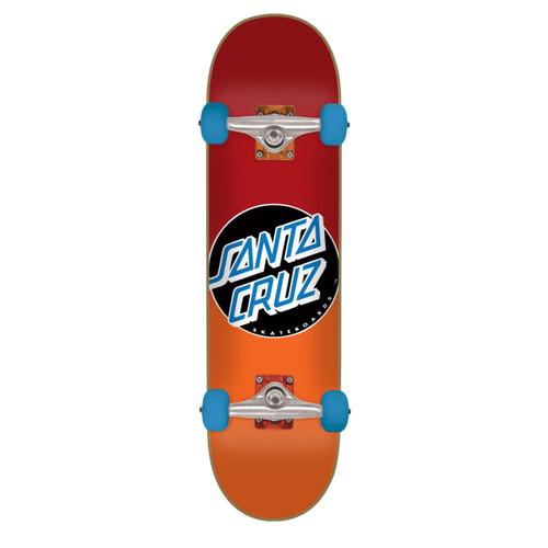 "Santa Cruz Classic Dot Fade Mini Complete Skateboard 6.75"" x 28.5"""