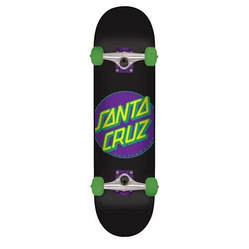 "Santa Cruz Classic Dot Neon Complete Skateboard 8.25"" x 31.8"""