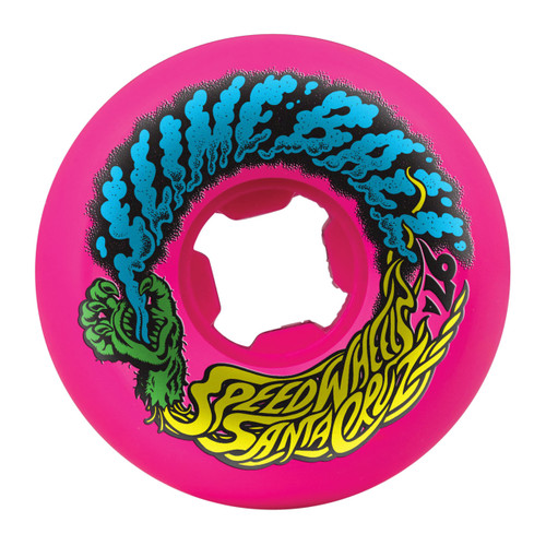Santa Cruz Slime Balls Vomit Mini Wheels 54mm/97a Pink (Set of 4)