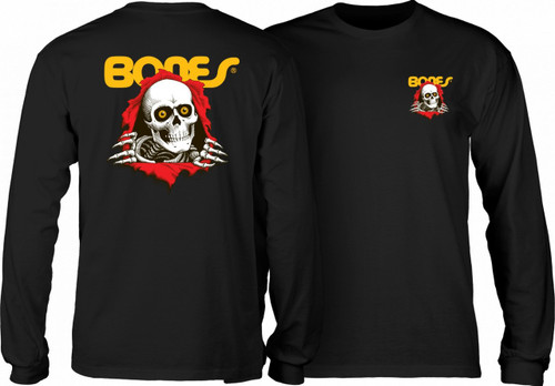 Powell Peralta Old School Bones Ripper Long Sleeve Shirt (Available in 4 Colors)